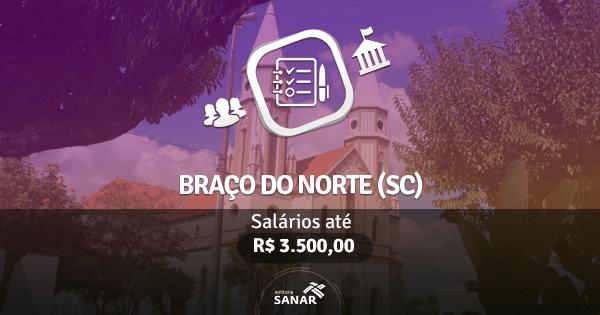 Prefeitura de Braço do Norte (SC): edital publicado com vagas para Enfermagem e Odontologia