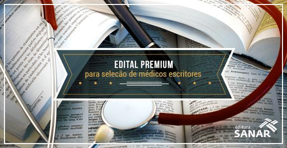 Edital Premium para a Publicação de Livros em Medicina