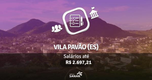 Vila Pavão (ES): edital publicado com vagas para Enfermagem, Farmácia e mais