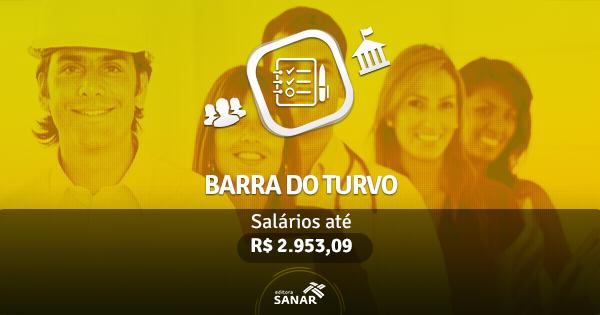 Prefeitura de Barra do Turvo: edital publicado com vagas para Enfermagem, Farmácia, Nutrição e Psicologia