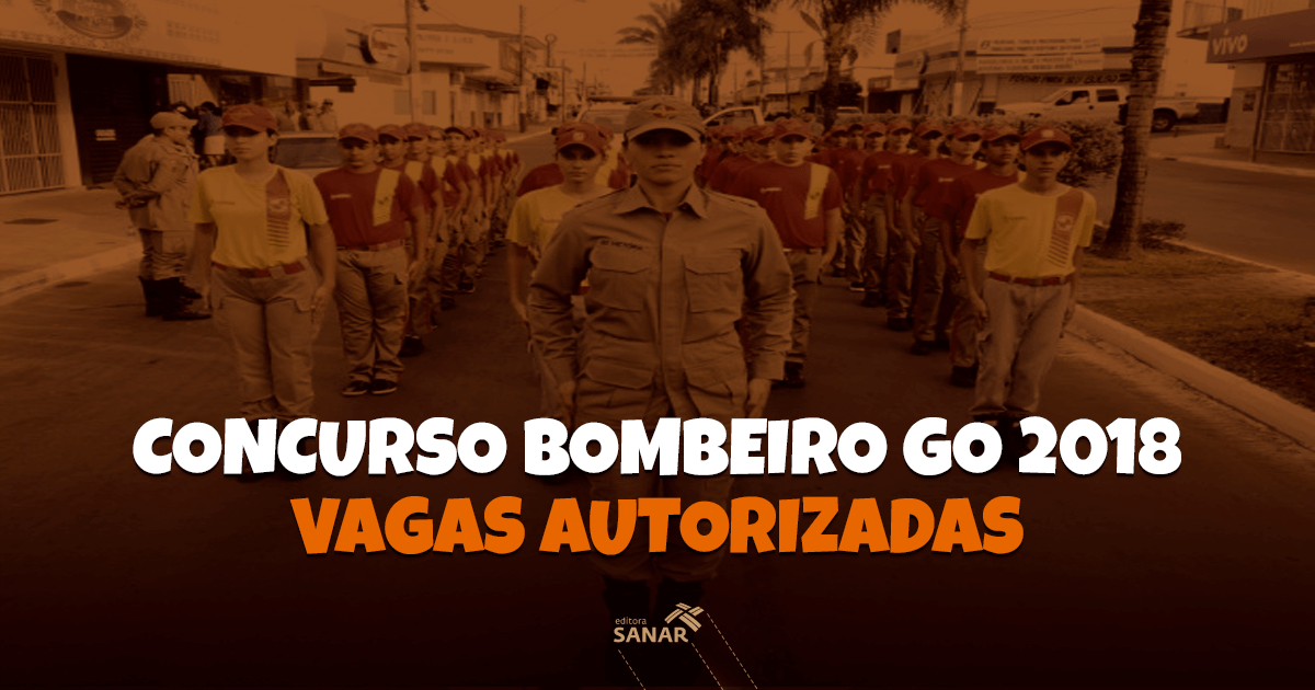 Concurso Bombeiro GO: 274 vagas autorizadas com salários de até R$ 5 mil