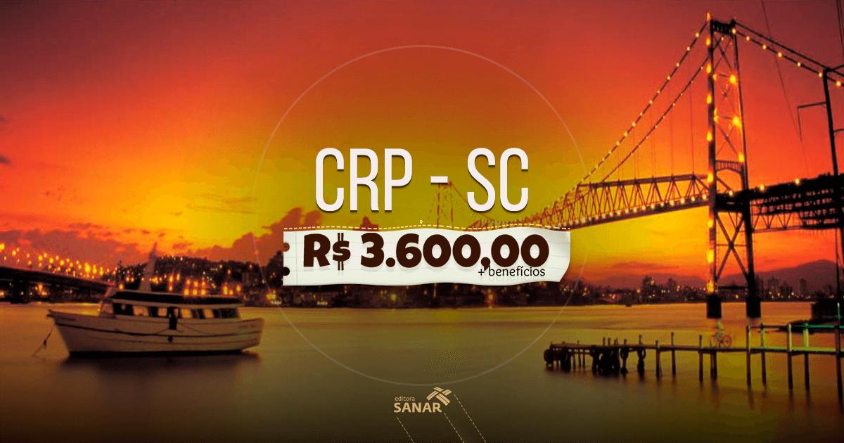 Concurso CRP-SC: edital liberado com 120 vagas para psicólogos