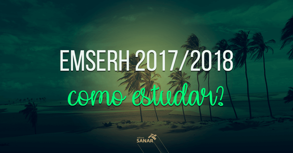 Concurso EMSERH: Como estudar?