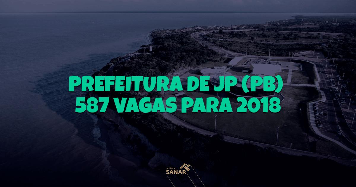 Prefeitura de João Pessoa (PB): mais de 500 vagas na área de saúde para 2018