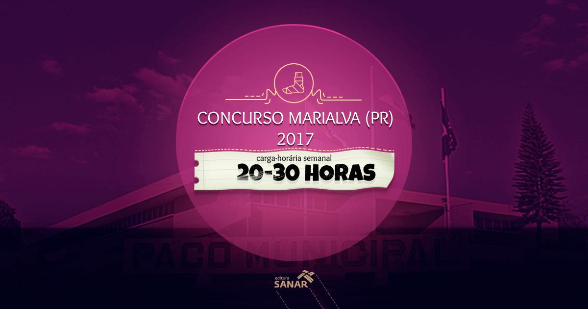 Prefeitura do Município de Marialva (PR): edital de Concurso Público com vagas para áreas de saúde