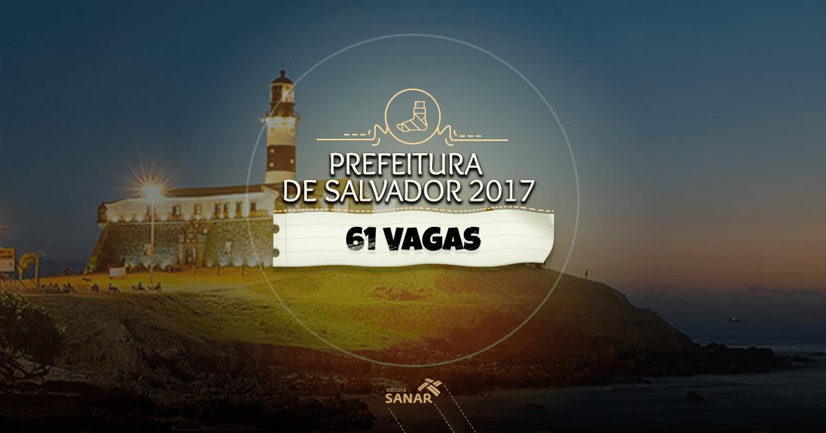 Prefeitura de Salvador (BA) abre Processo Seletivo com 61 vagas para psicólogos