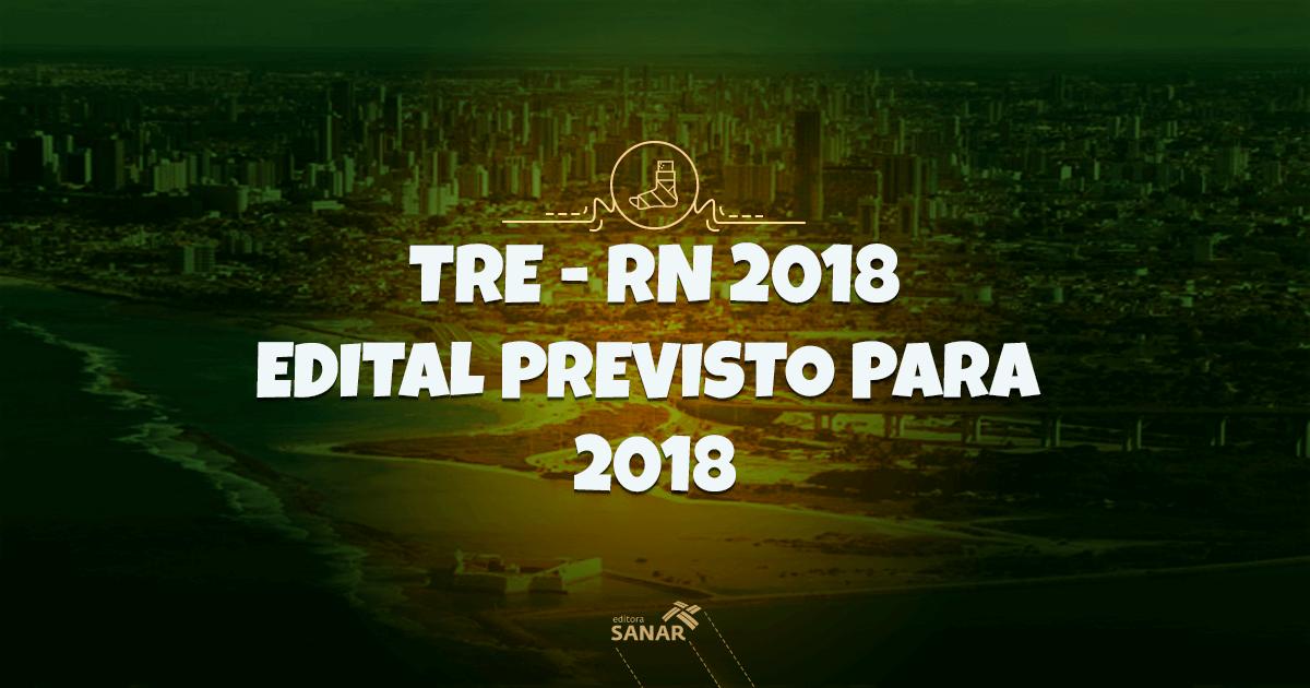 Concurso TRE-RN: após adiamento, está pautado para liberação em 2018