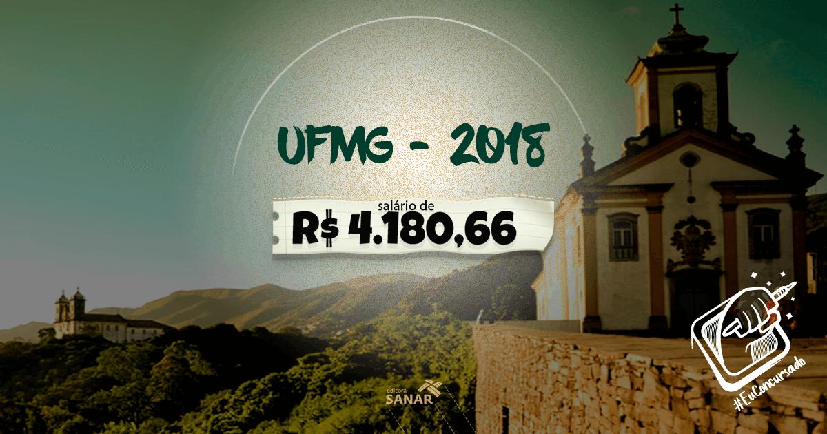 Concurso UFMG 2018: edital publicado com vagas para enfermeiros, psicólogos e nutricionistas