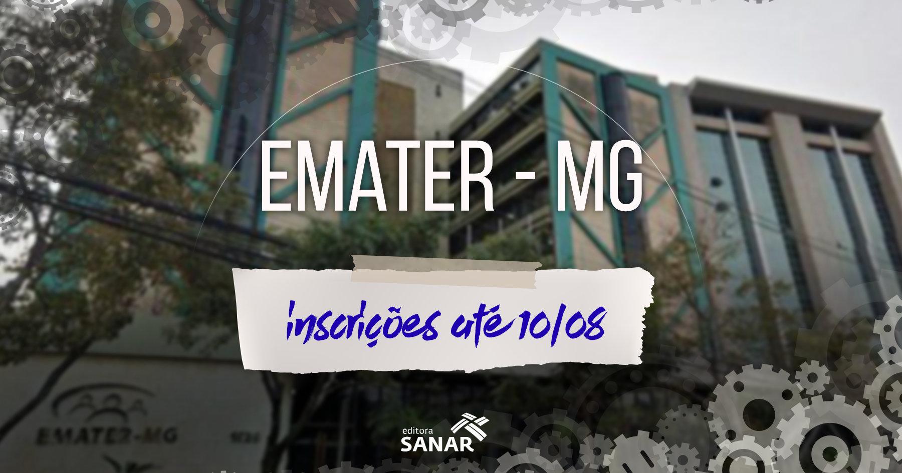 Concurso: Emater (MG) retoma edital com vaga para Psicologia