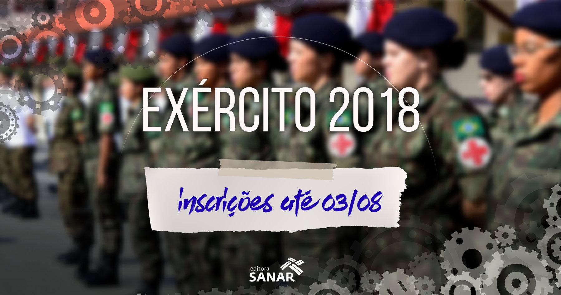 Concurso EXÉRCITO 2018: vagas em Enfermagem e Veterinária