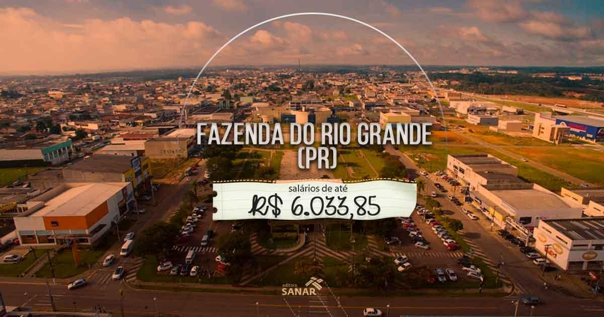 Fazenda Rio Grande, no Paraná, abre Concurso Público com vagas na área de saúde