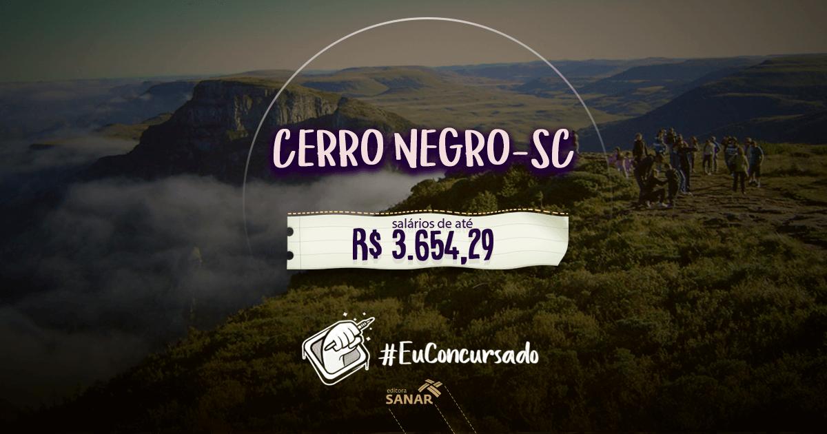 Prefeitura de Cerro Negro (SC): vagas para nutricionistas, farmacêuticos e fisioterapeutas