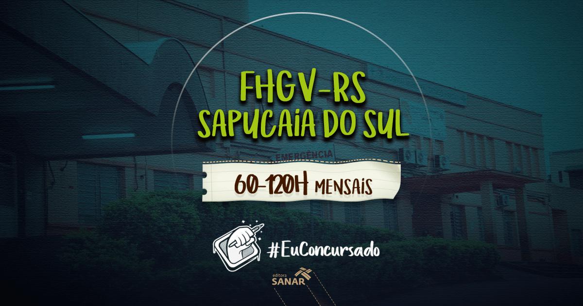 Concurso Fundação Hospitalar Getúlio Vargas (RS): vagas para médicos e enfermeiros