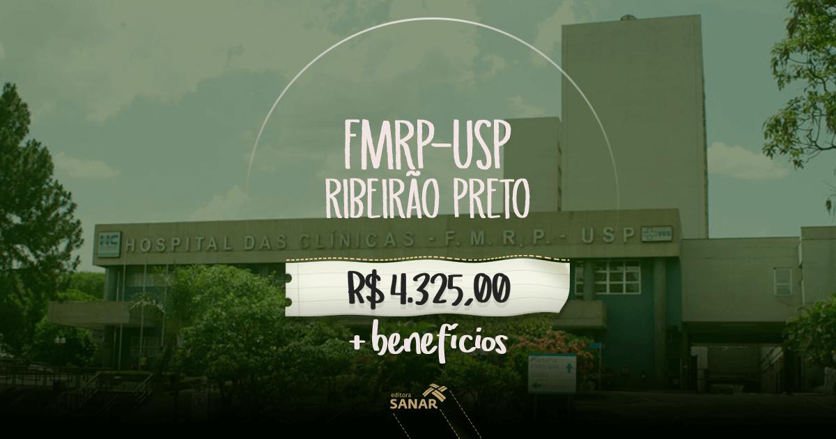 Hospital das Clínicas da USP - Ribeirão Preto: editais com vagas para médicos com jornada de 20 h semanais