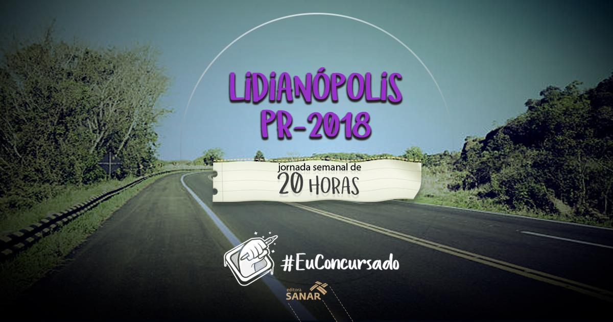 Concurso Prefeitura Lidianópolis (PR): vagas para veterinários e médicos