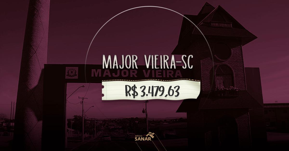 Concurso Prefeitura Major Vieira (SC): vaga para Farmacêutico com salário de R$ 3.479,63