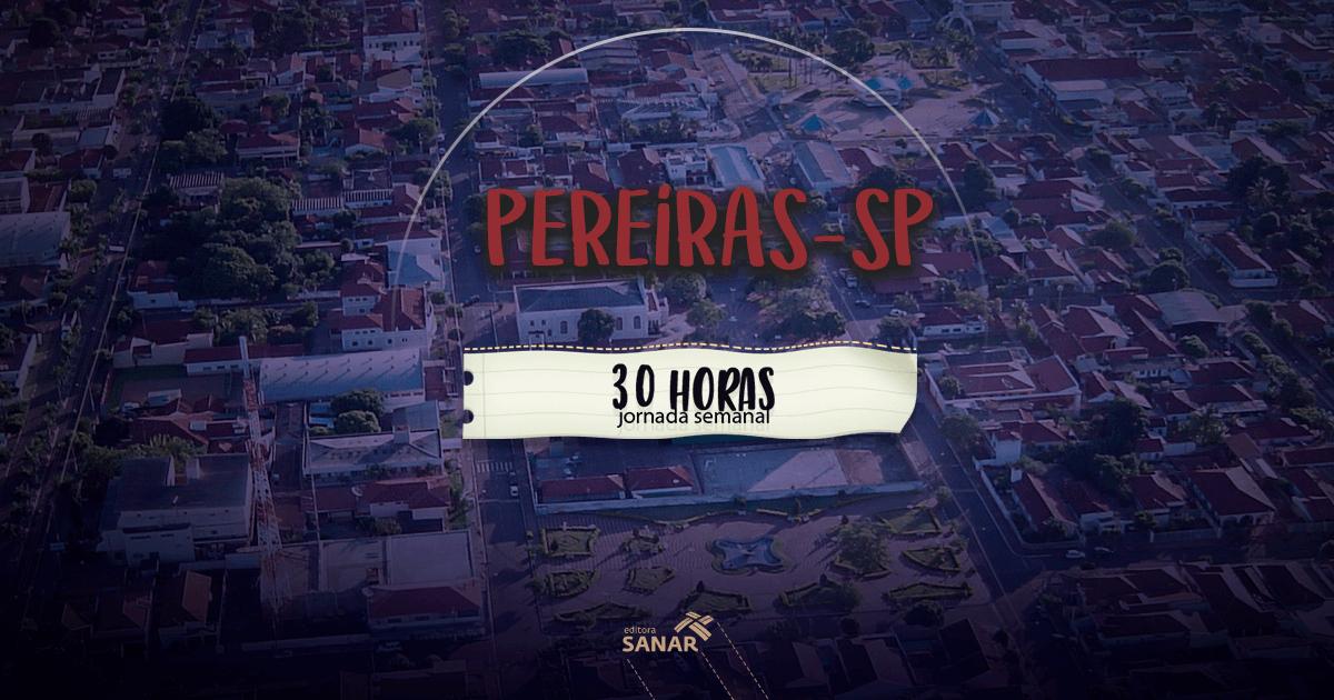 Prefeitura de Pereiras (SP): oportunidades para fisioterapeutas, nutricionistas e psicólogos