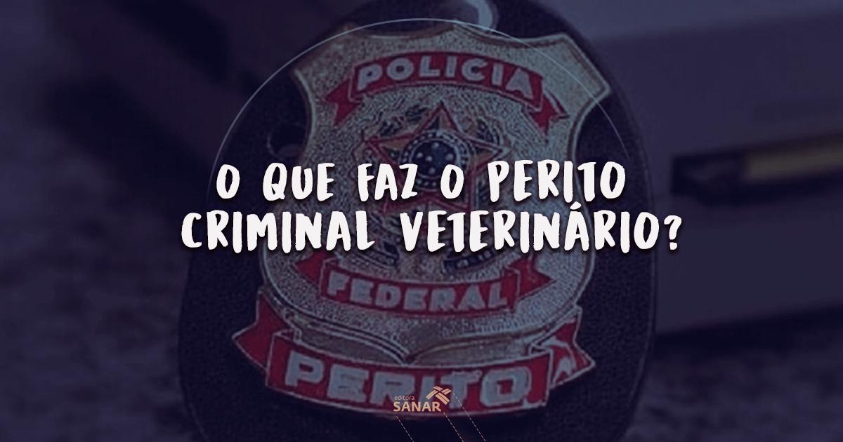 Entrevista com o Med. Vet. Antônio Pires: Você sabe o que faz um Perito Veterinário Criminal?