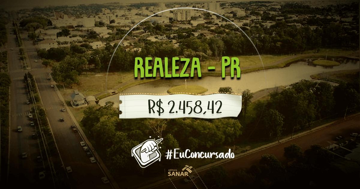 Concurso Prefeitura de Realeza (PR): vagas para nutricionistas, fisioterapeutas e mais