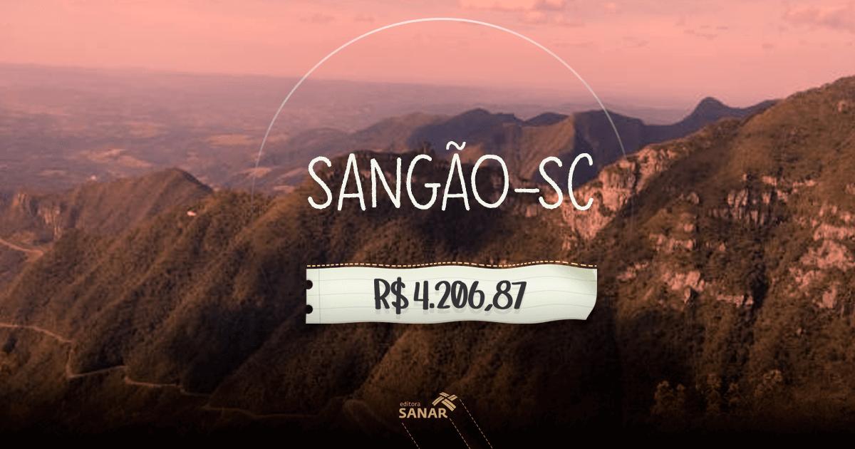 Concurso Prefeitura de Sangão (SC): seleção com fase única para odontólogos, fisioterapeutas e enfermeiros