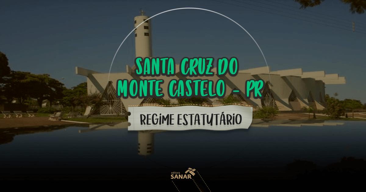 Santa Cruz do Monte Castelo (PR): vagas para psicólogos, nutricionistas e mais