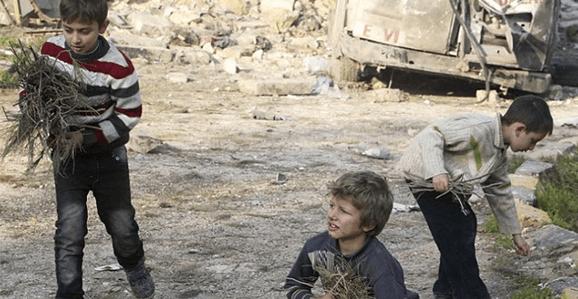 As feridas emocionais das crianças refugiadas