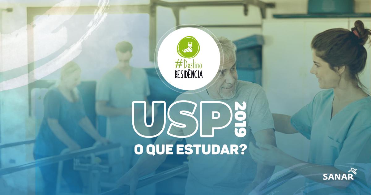 Residência USP 2019: O que cai na prova de Fisioterapia