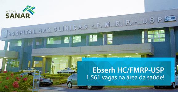 Governo autoriza 1,5 mil vagas para o HC de Ribeirão Preto (SP)
