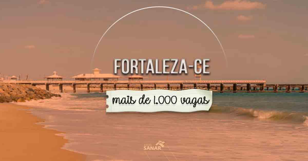 Partiu, Fortaleza: prefeitura abre mais de 1.000 vagas na área de saúde