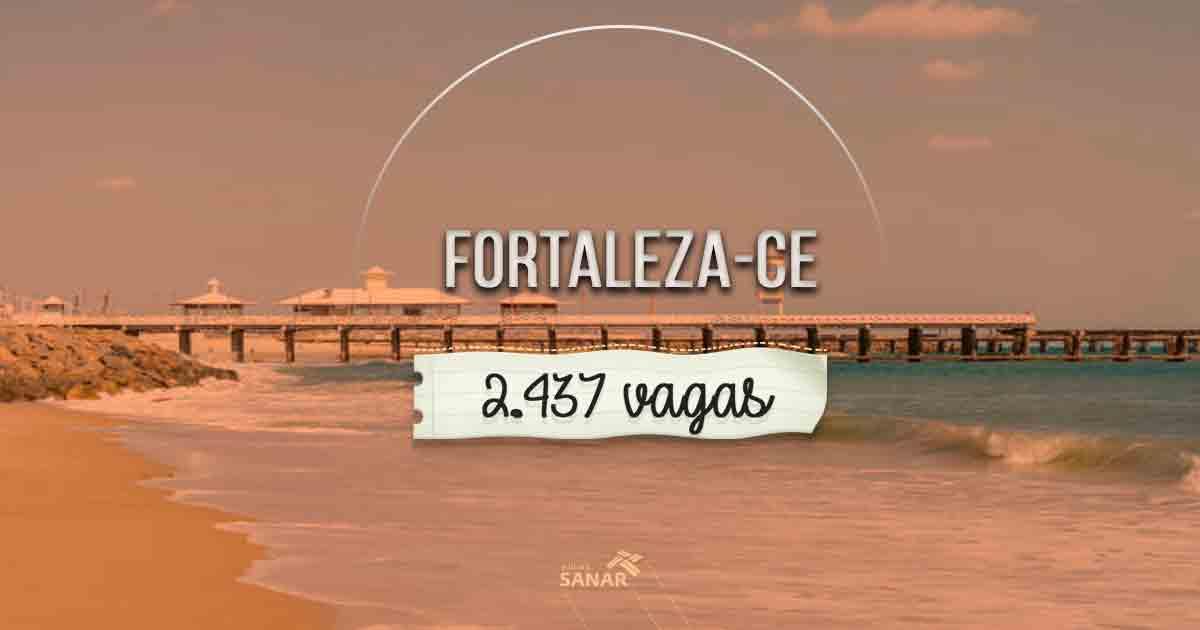 Prefeitura de Fortaleza anuncia Concurso Público com 2.467 vagas