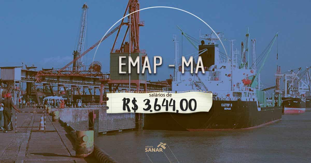 Concurso EMAP (MA): oportunidade para enfermeiros e salário de R$ 3.644,00