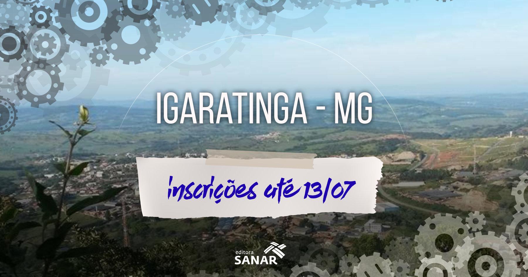 Seleção: Igaratinga tem vagas na atenção básica