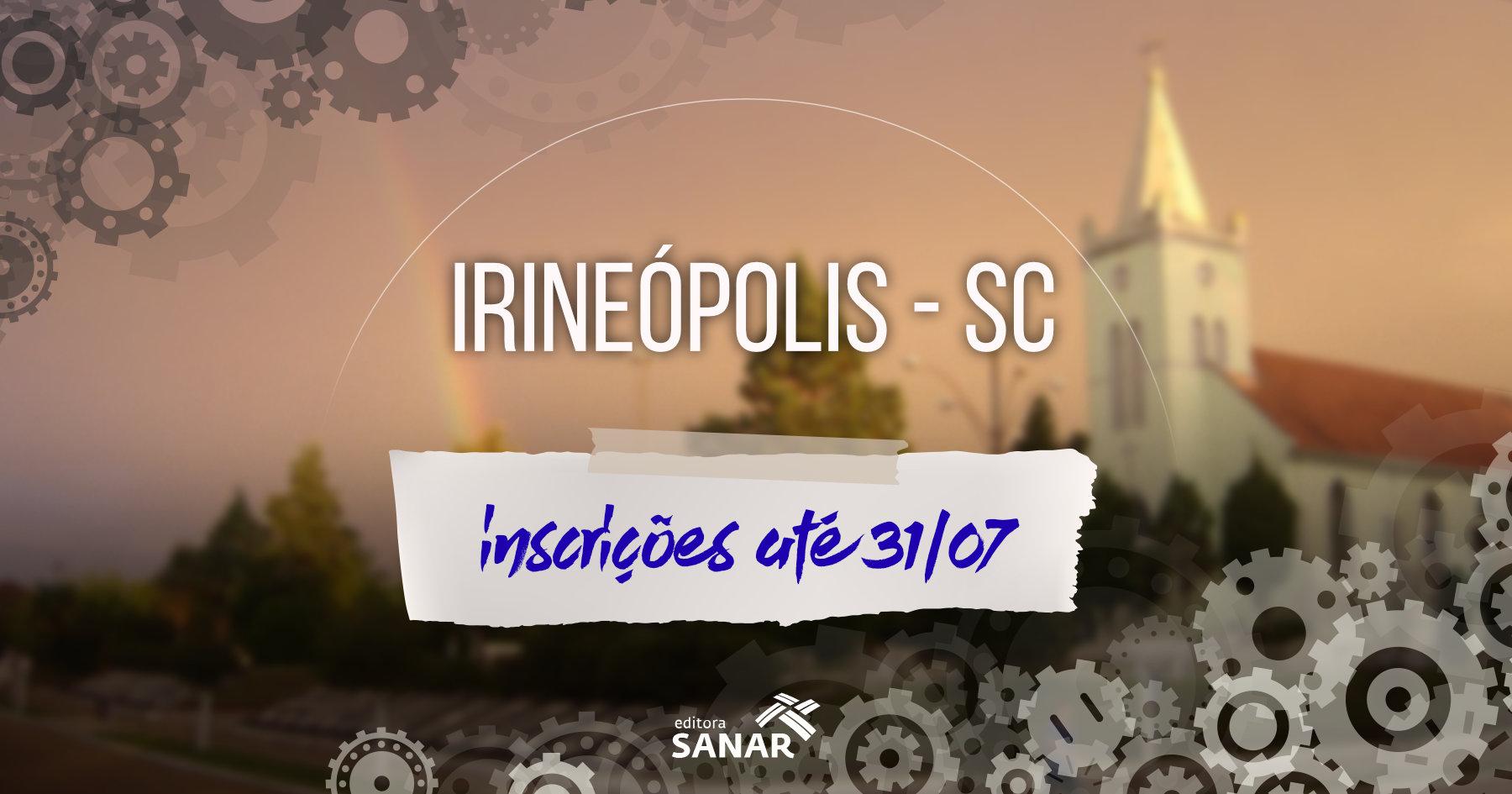 Seleção: Prefeitura de Irineópolis publica edital