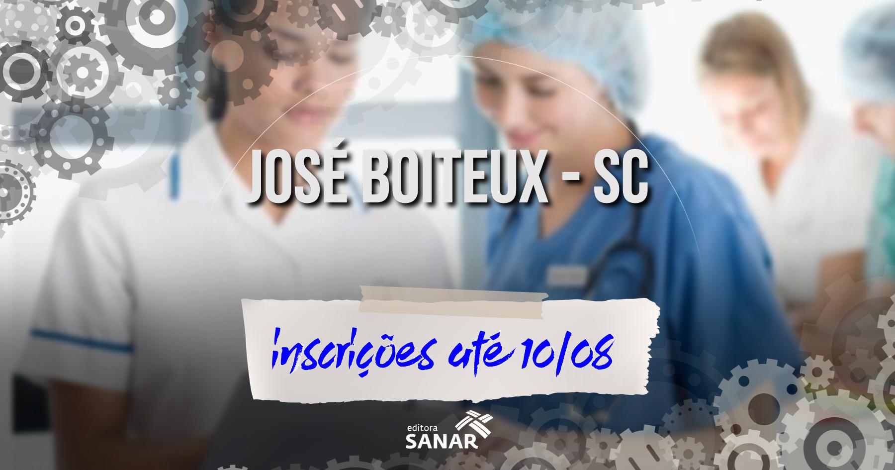 Seleção | José Boiteux (SC) tem vagas em Enfermagem