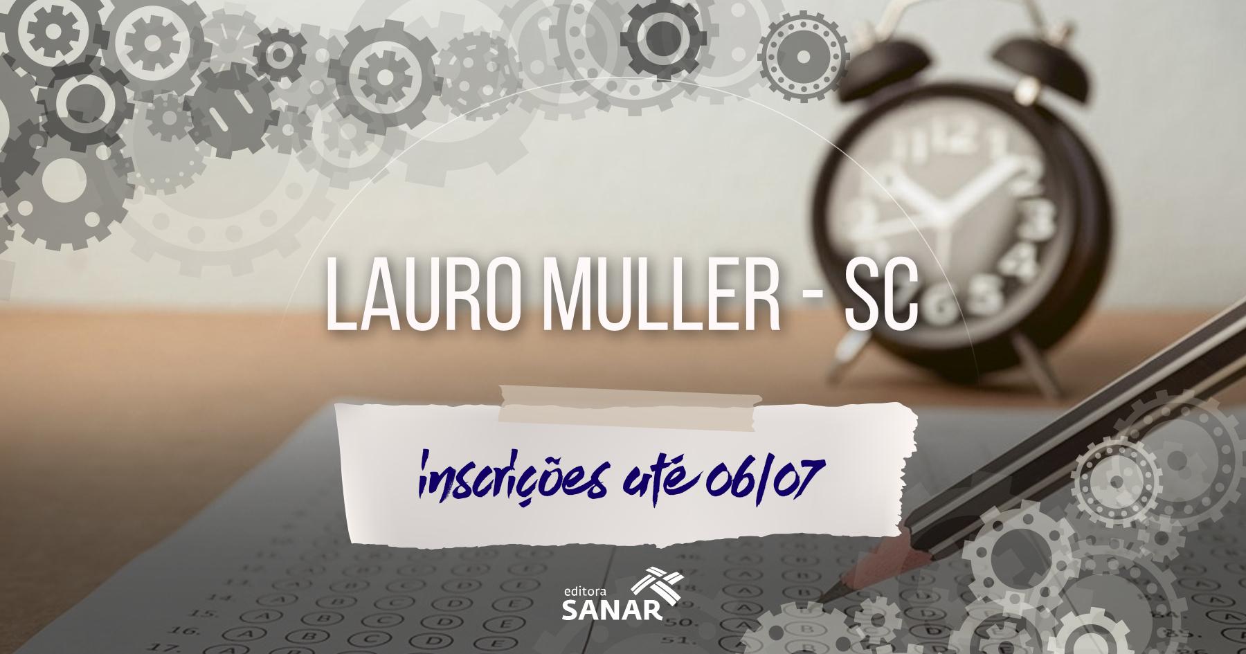 Processo Seletivo: Prefeitura de Lauro Muller (SC) abre seleção para médicos