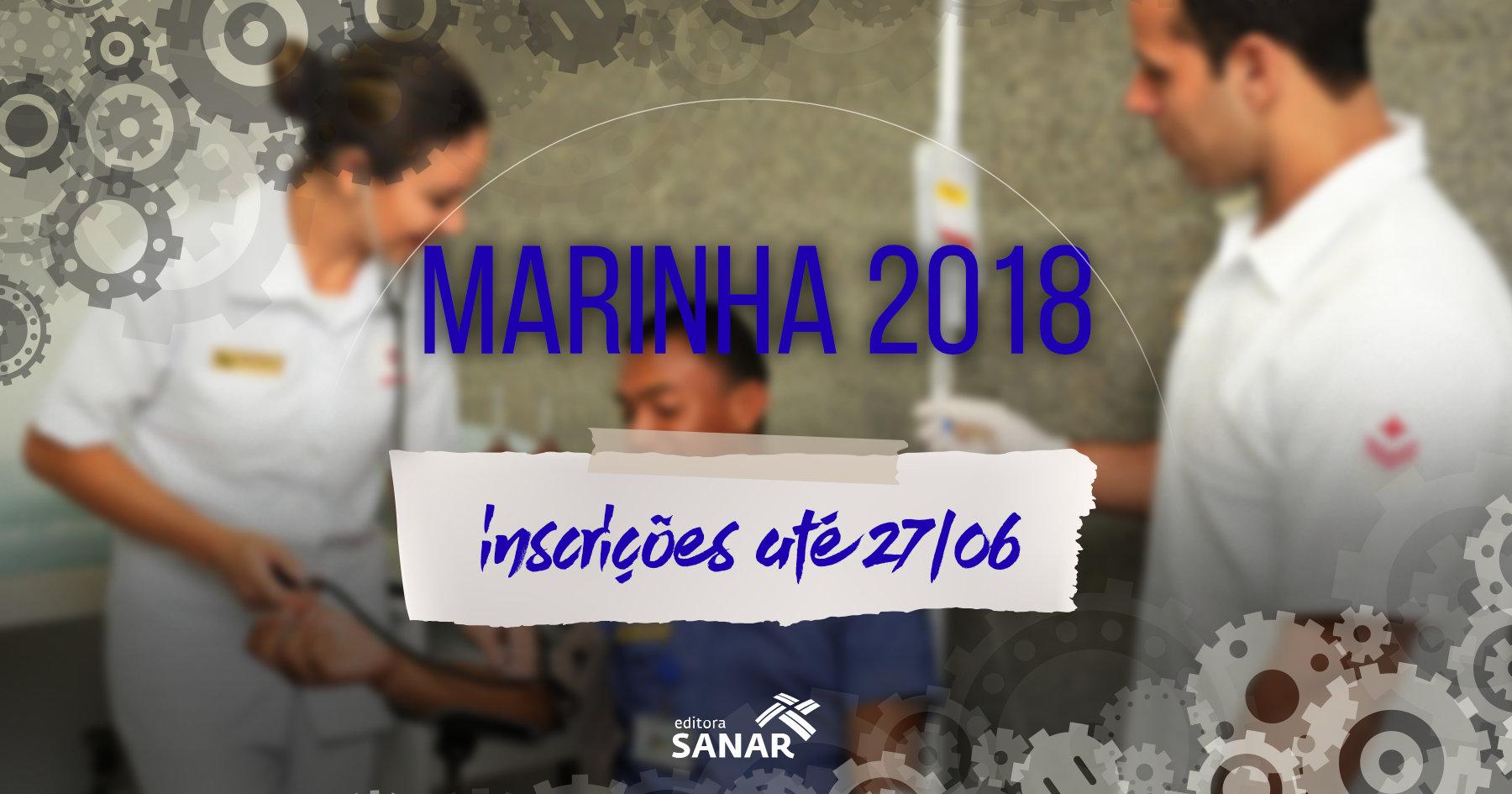Concurso Marinha 2018: editais oferecem salários de R$6,9 mil