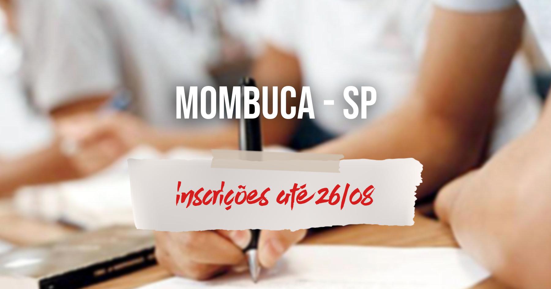 Concurso | Mombuca (SP) inscreve só até amanhã