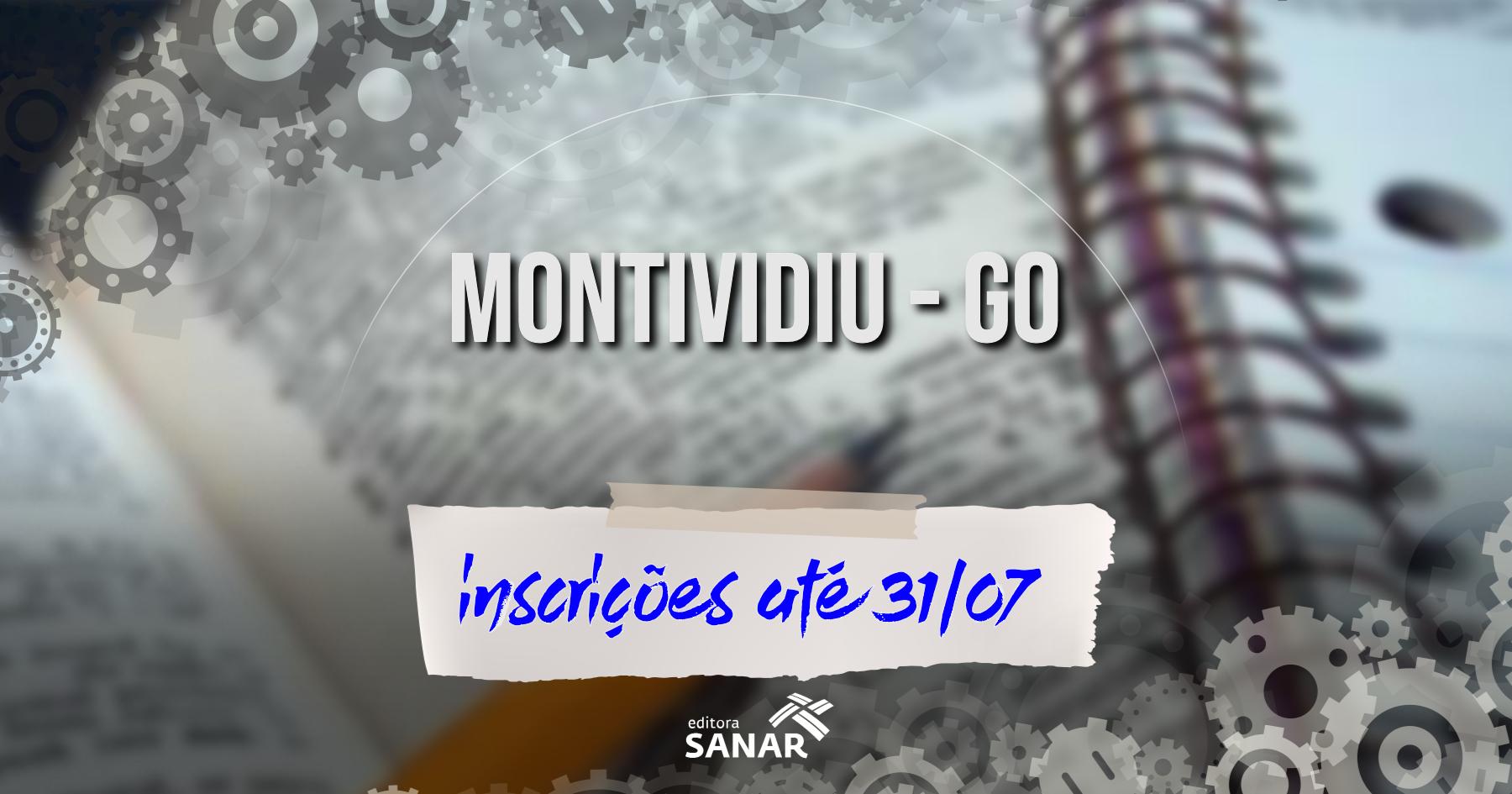 Seleção   Montividiu (GO) está com inscrições abertas