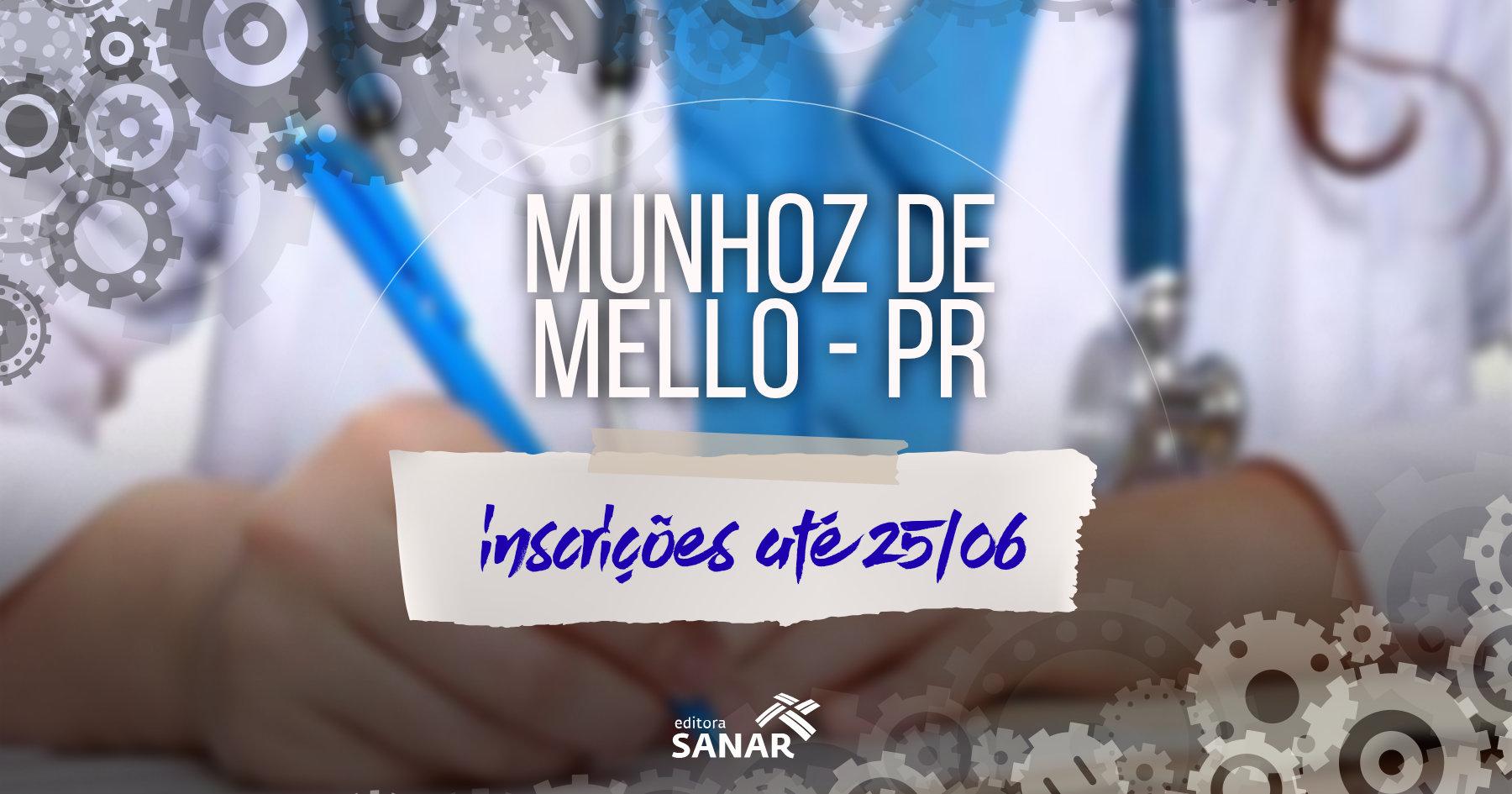 Concurso | Munhoz de Mello (PR) divulga edital