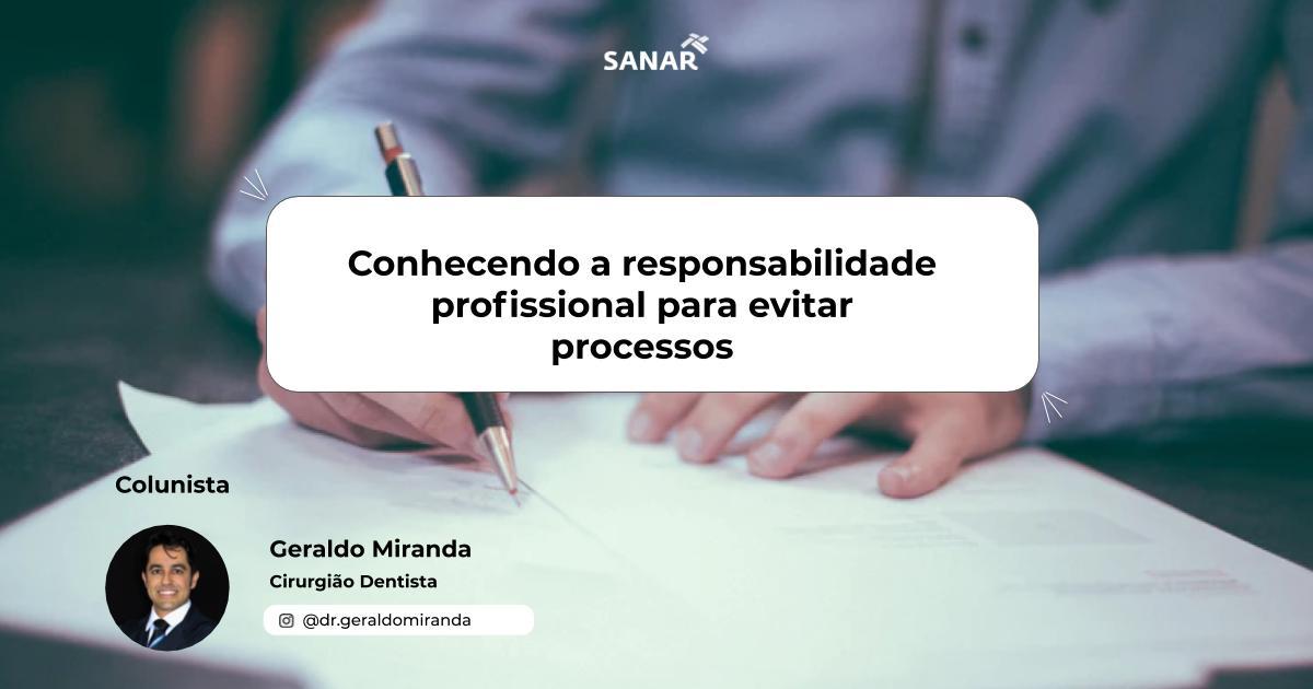 Conhecendo a responsabilidade profissional para evitar processos