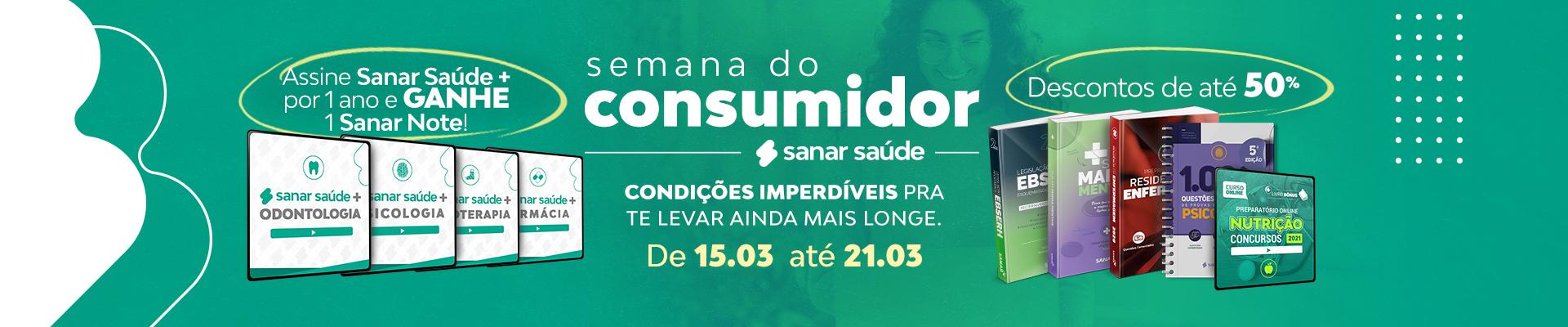 Semana do Consumidor Sanar Saúde 2021