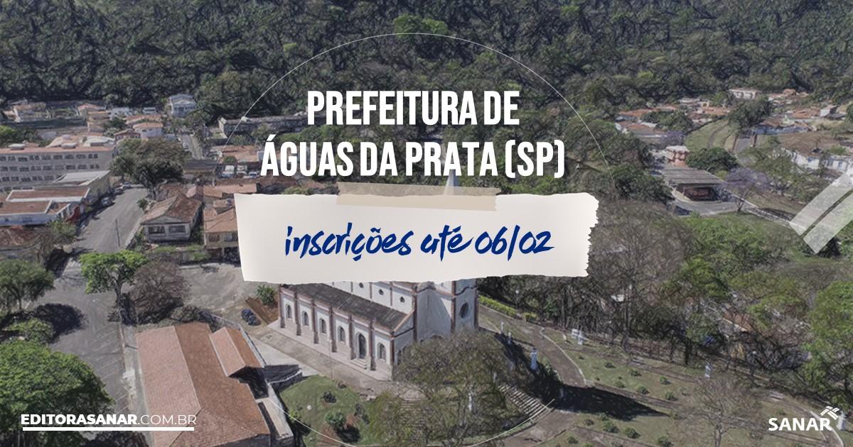 Concurso de Águas da Prata - SP: cargos na Saúde!