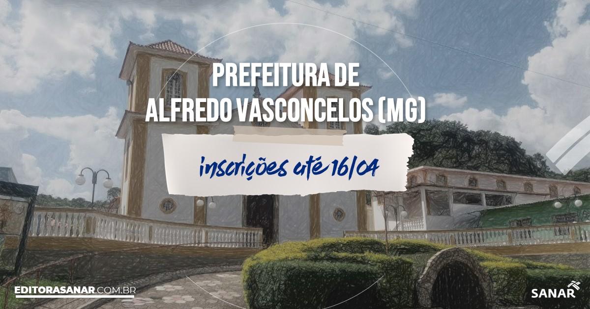 Concurso de Alfredo Vasconcelos - MG: vagas na Saúde para médicos!