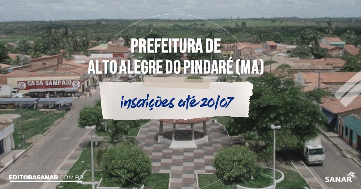 Concurso de Alto Alegre do Pindaré - MA: vagas na Saúde!