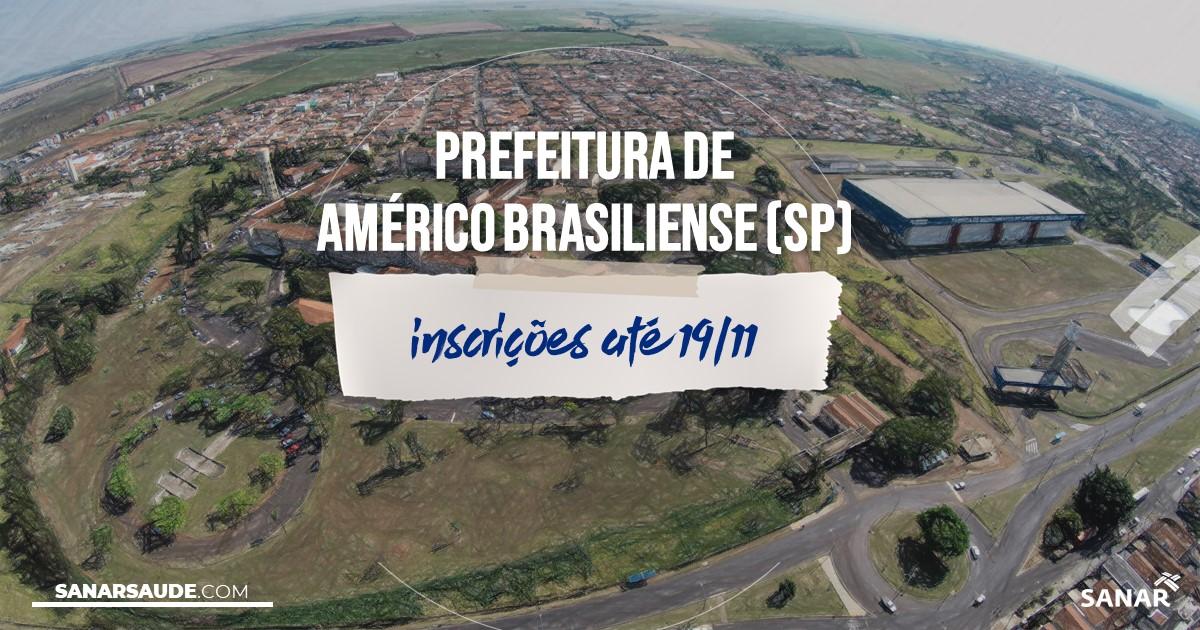 Concurso de Américo Brasiliense - SP: vagas na Saúde para médicos!
