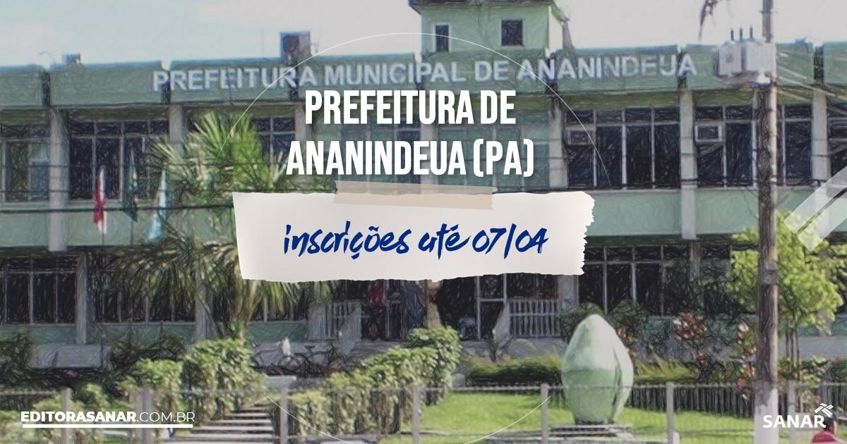 Concurso de Ananindeua - PA: vagas na Saúde!