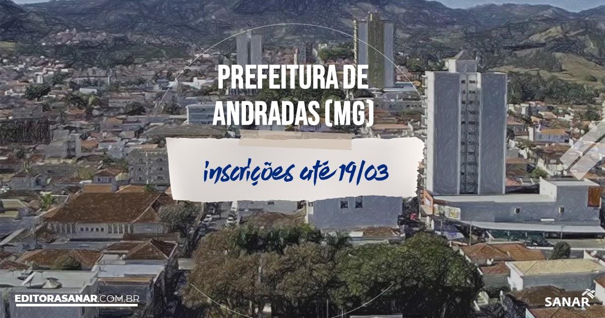 Concurso de Andradas - MG: vagas na Saúde!