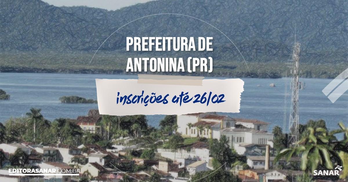 Concurso de Antonina - PR: vagas na Saúde!