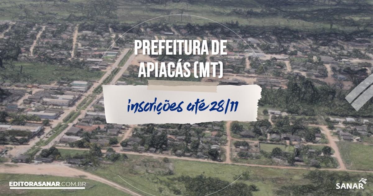 Concurso de Apiacás - MT: remunerações na Saúde de até R$13 mil!