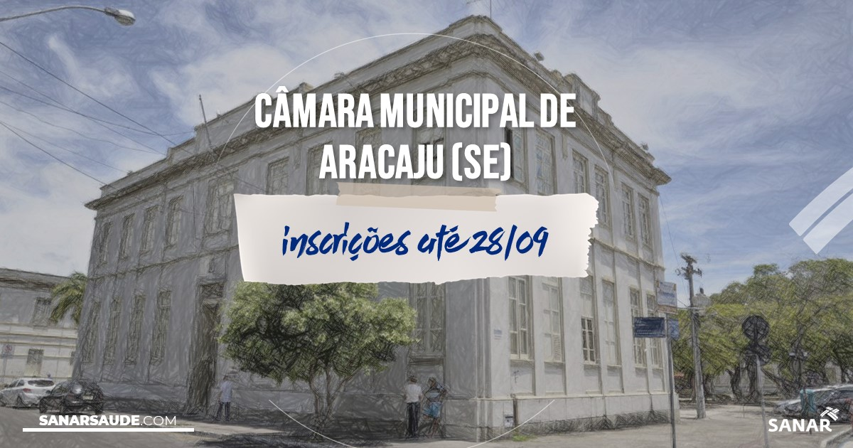 Concurso de Aracaju - SE: vagas imediatas na Saúde!